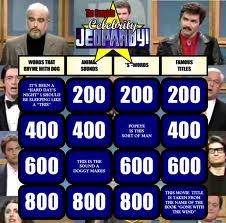 Celebrity jeopardy asia