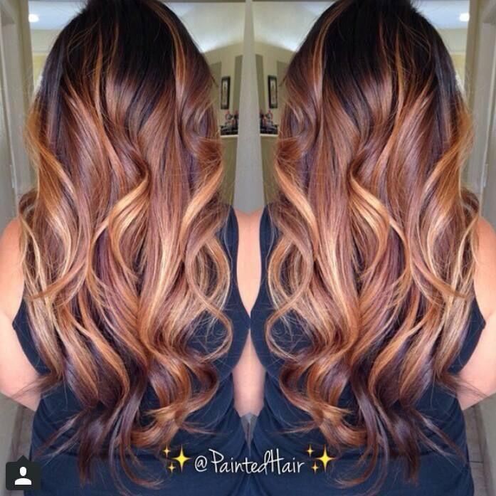 Frisuren, Herbstliche Haarfarben, Haar Schönheit, Schönheitstipps, Make Up  Tipps, Haarinspiration, Tinte, Haarfarben, Zopffrisuren
