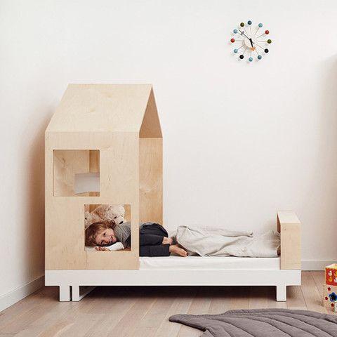 Cama niño de madera Roof 80 x 160