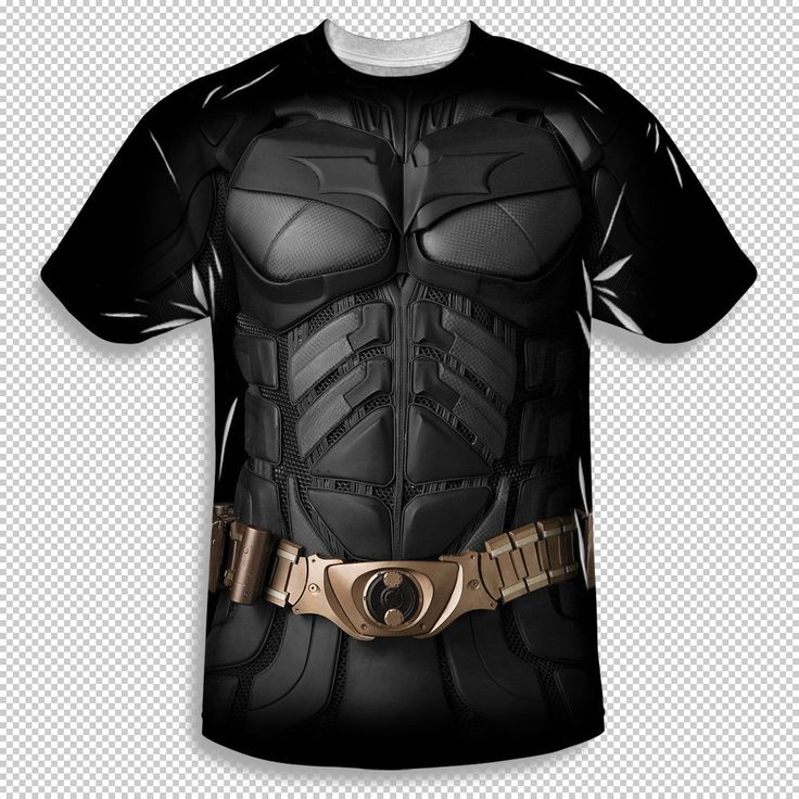 New The Dark Knight Batman Costume All Over Front Sublimation Youth T-shirt Top #Trevco #Everyday