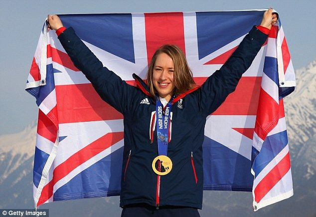 Lizzy Yarnold's gold medal for the skeleton at Sochi