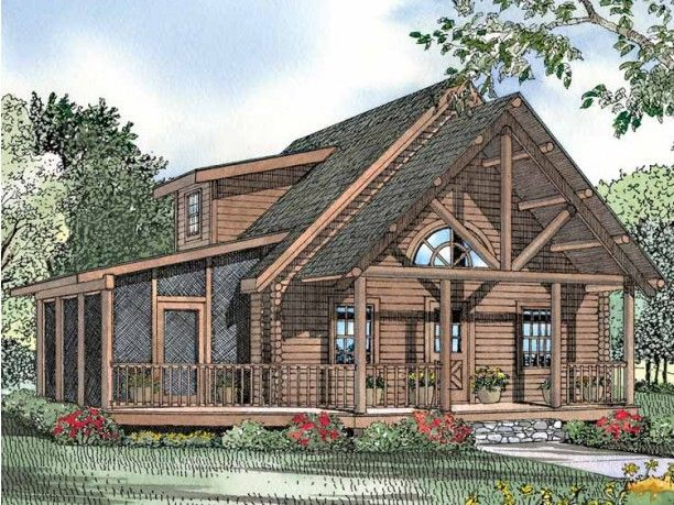 Log Cabin Plan I Don 39 T Need An Upstairs But Need A