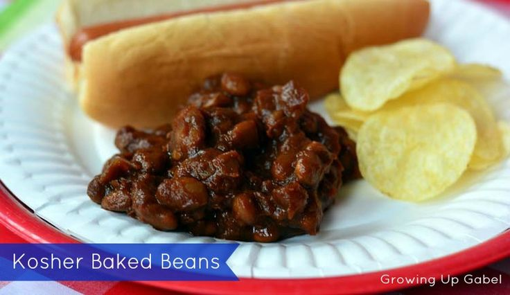Kosher Baked Beans in the Slow Cooker #99summerdays #hebrewnational # ...
