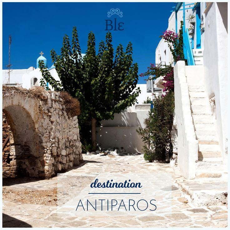 Back to the city? Nope!  We continue our journey to the Greek islands! This week we dream of Antiparos. Have you been?