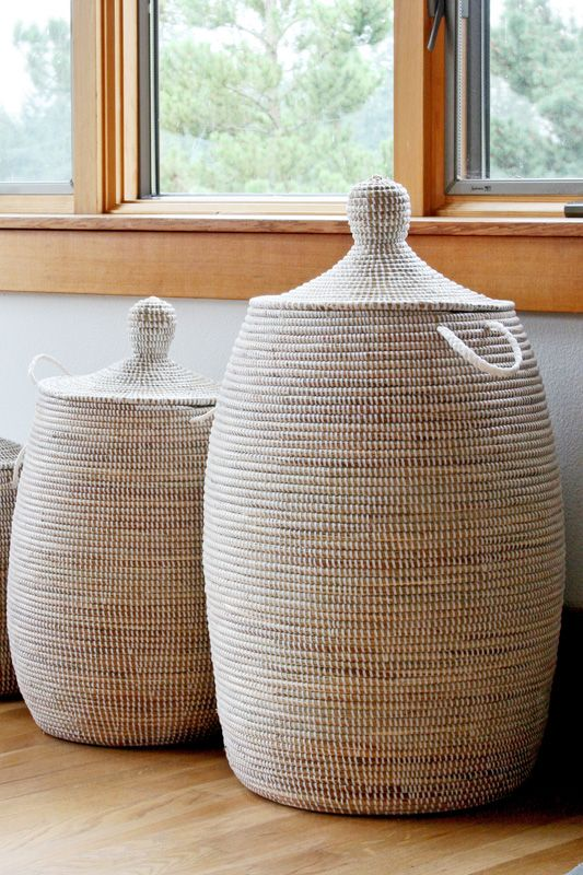 Hand-woven, fair trade baskets from Senegal