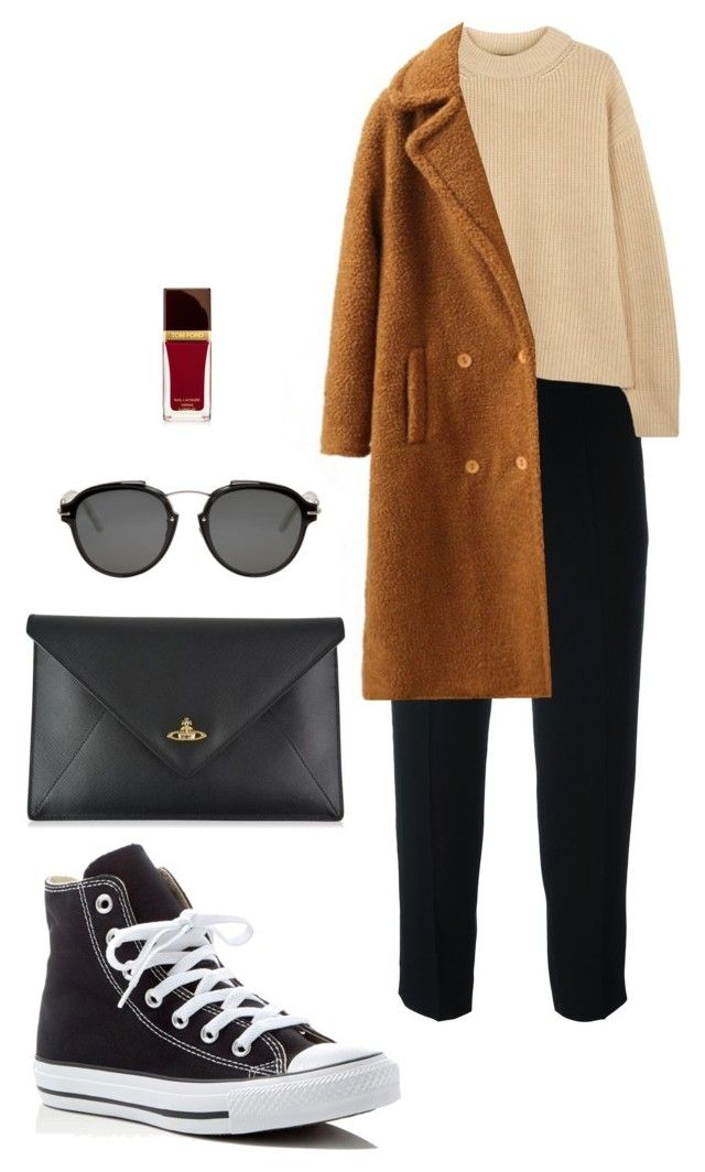 Street style by dalma-m on Polyvore featuring polyvore fashion style The Row WithChic Chloé Converse Vivienne Westwood Christian Dior Tom Ford clothing