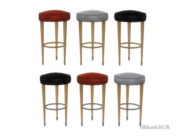 ShinoKCR's Art Deco Home Bar - Barstool Recolors