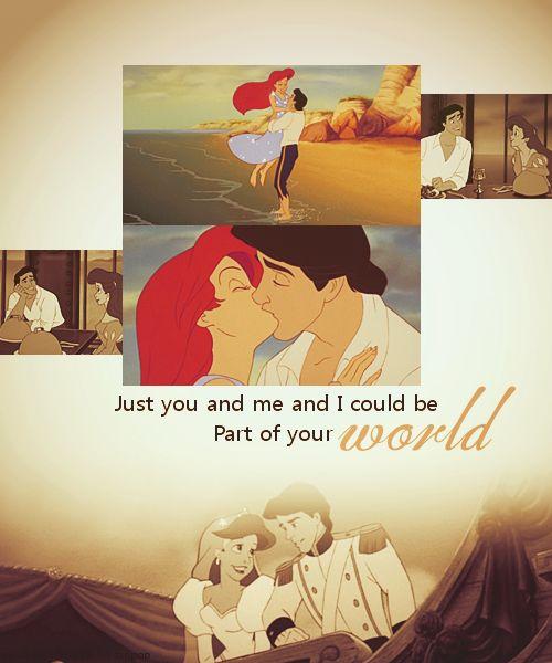 : Disney Quotes, Little Mermaids, Favorite Disney, Ariel, Mermaid 3, Disney Couples, Disney Princess, The Little Mermaid, Disney Movie