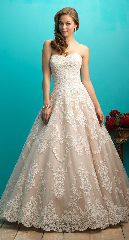 Allure Bridals Fall 2015 Wedding Dress