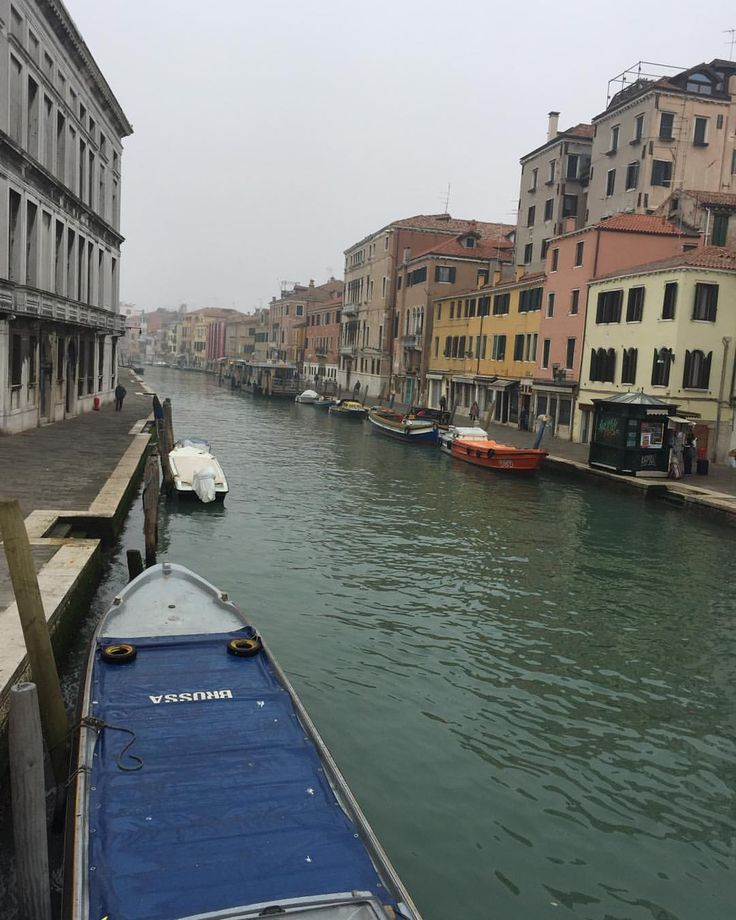 one of the many many Canals in Venice