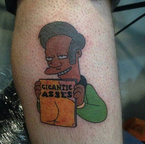 Image result for simpsons tattoos