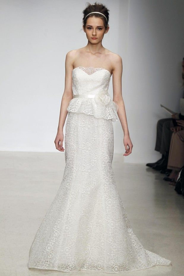 Christos Bridal s/s 2013 collection. Sweet spring bride