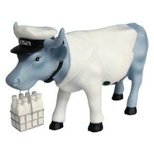 Cow Parade Vaca Milkman Figurine