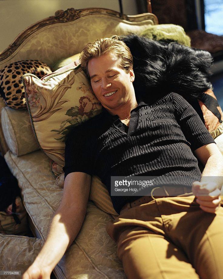 Val Kilmer; Val Kilmer by George Holz; Val Kilmer, Premiere, April 1, 1997; Los Angeles; California.