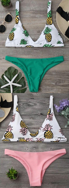 $12.99 High Cut Pineapple Print Bikini Set. Zaful,bathing suit,swimsuits,summer,cute,beach weekend packing,women fashion,summer outfits,one pieces,swimwear,bikini set,summer fashion,Hawaii,bikini,chic,fall,fall outfits,teen bathing suits,fall fashion,bikinis,summer swimsuits,one piece swimwear,beach outfit,teen swimsuits,beach,summer bikinis,swimwear cover ups,zaful fashion,one piece swimsuit,bikini swimsuits,outfit,outfits,outfit ideas,womens fashion