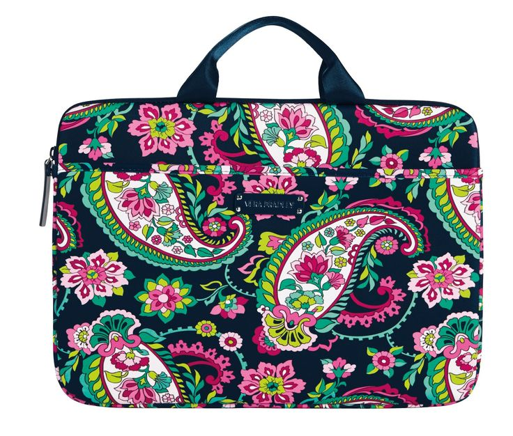 Vera Bradley Neoprene Laptop Case in Petal Paisley--This weekend only- Vera Bradley is having an online outlet sale.  Read more: at Posh on a Budget!