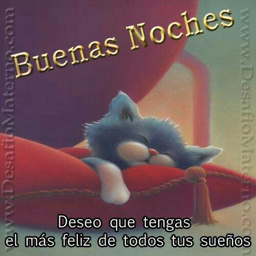 Buenas noches bb te amo.. Descansa... Besos  ta mañana