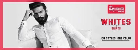 #RaymondStore #RaymondWhites #ReadyToWear #shirts #whiteshirts #White #Formals