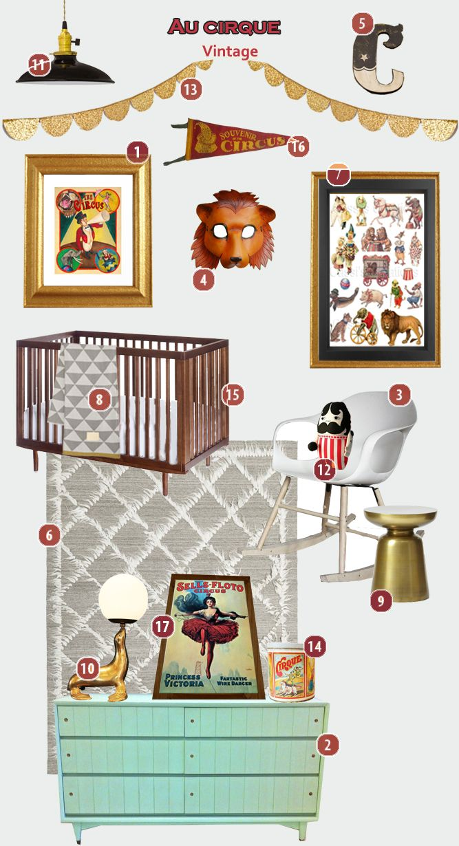 Circus nursery - unreal that these are he same colors and style that I've already started bringing to life :)