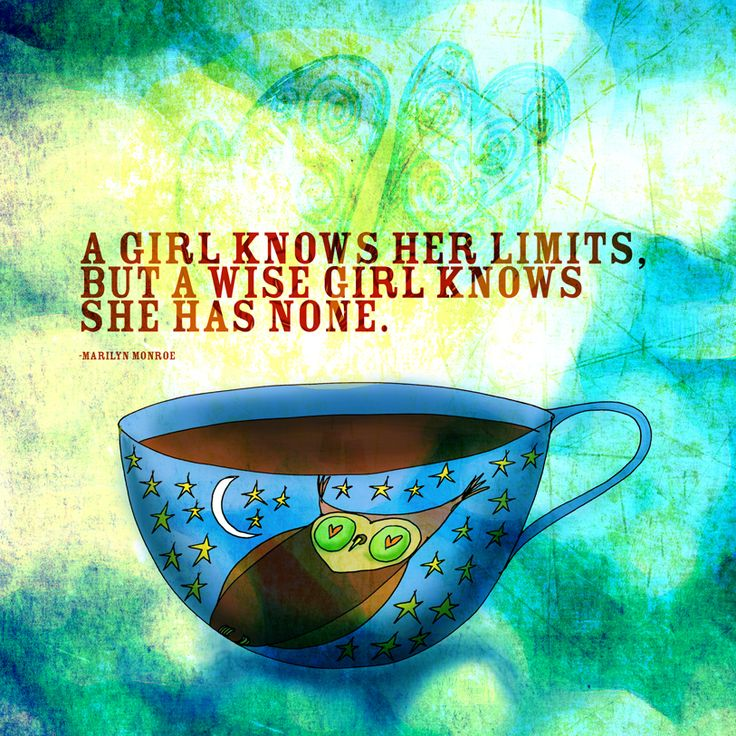 """What my #Coffee says to me January 3rd inspired by French Roast and a quote from the late Marilyn Monroe. """"A girl knows her limits, but a wise girl knows she has none."""" In 2013 believe in your dreams, go forth and drink in the wisdom of life. Cheers."""