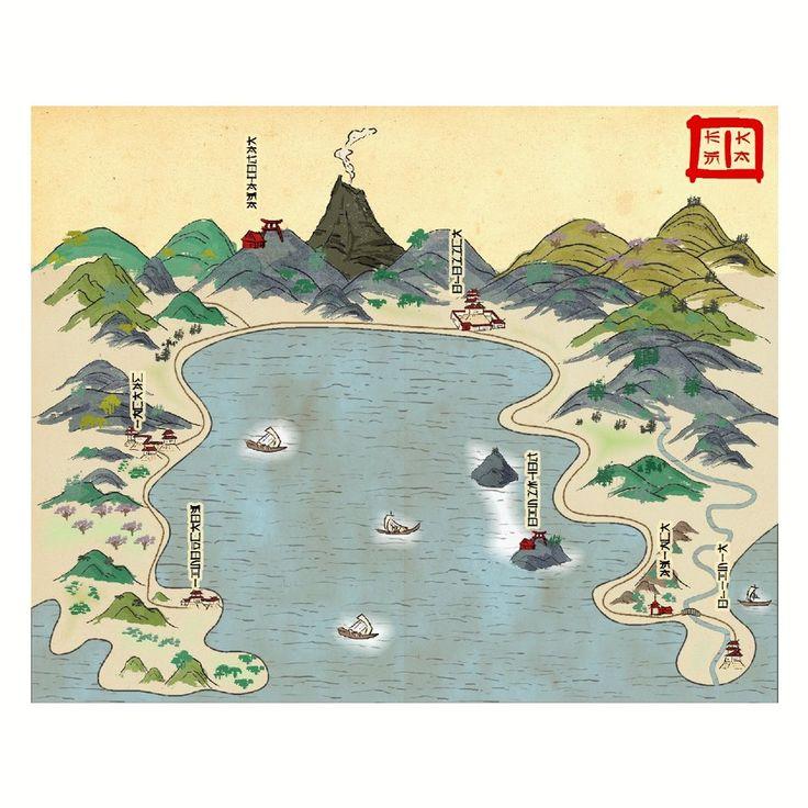 Coastal map by Tonnichiwadeviantartcom on DeviantArt 111