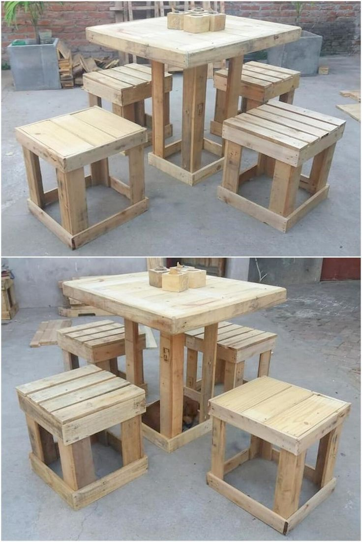 Unique and Stylish DIY Ideas With Pallets