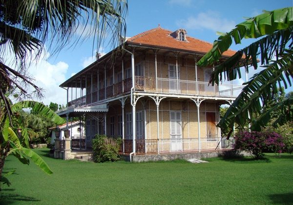 """maison coloniale """"zévalos"""" Le Moule GUADELOUPE (FWI)"""