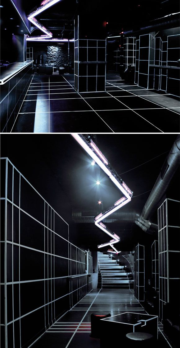 Grafic and Light installation