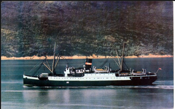 Harold A Corbin Helen....this was the old CP boat that came to OF weekly. Once called the Princess Norah - in this picture it went by the name Northland Prince. A great old coastal passenger/freight ship.