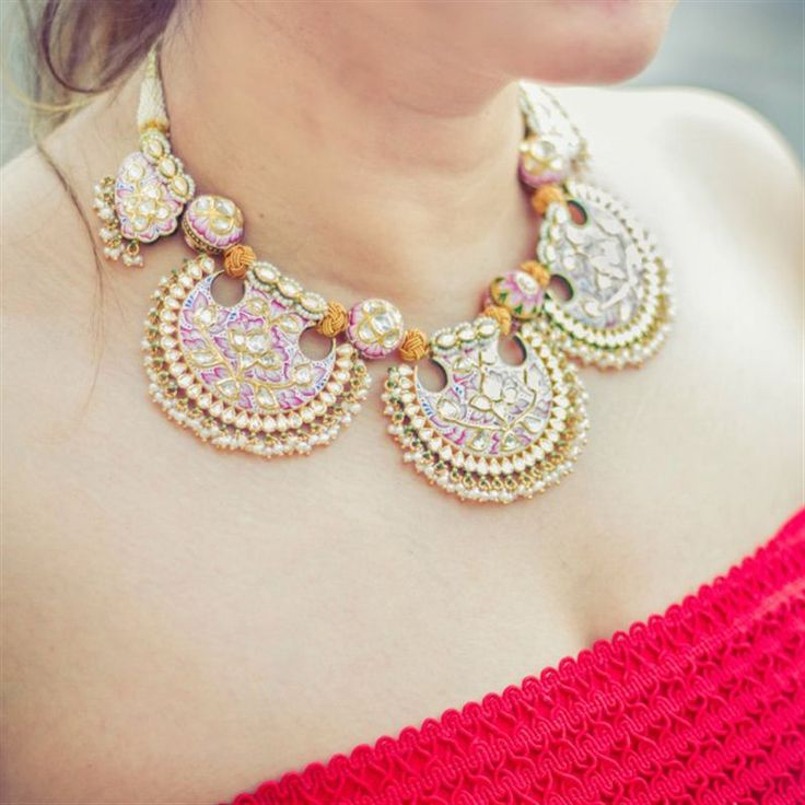 Fashion U Feel can't take her eyes off this exquisite gold necklace from Jaipur Gems.