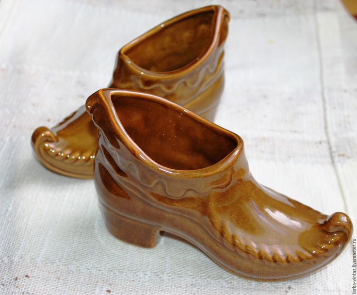 Купить Керамические башмаки..туфельки СССР в интернет магазине на Ярмарке Мастеров