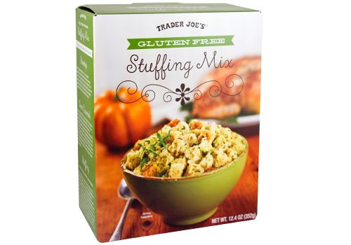 November 27, 2014—Fearlessly Archived—Still a fun read; price & availability may have changed.  	Trader Joe's Gluten Free Stuffing Mix was crafted for cooks who want...