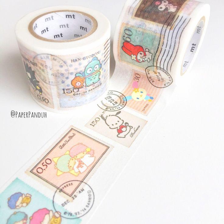 Sanrio MT Washi Tape - www.PaperPanduh.com