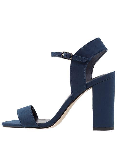 Chaussures New Look STRIKE 2 - Sandales à talons hauts - navy bleu: 24,95 € chez Zalando (au 29/07/17). Livraison et retours gratuits et service client gratuit au 0800 797 34.