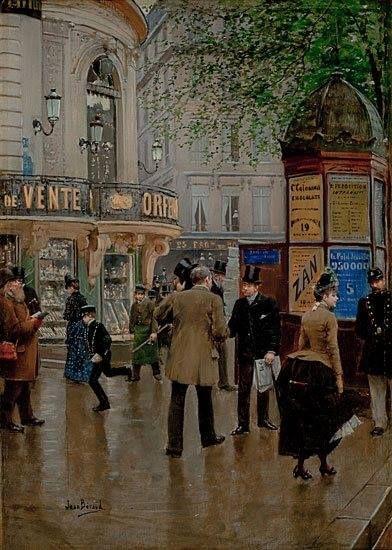 1885..1890.......PARTAGE DE LE PEINTRE JEAN BERAUD.........SUR FACEBOOK......... | Repinned by @neinvestments