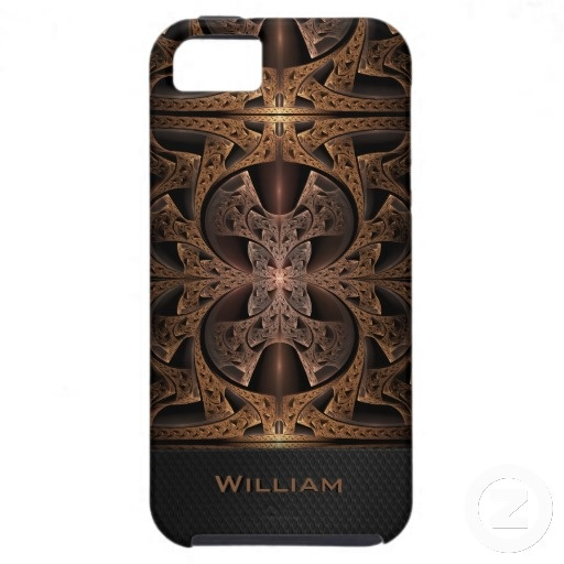 Steampunk Engine Abstract Fractal Artwork iPhone 5 Case $49.95 #fractal #abstract #steampunk #customizable #iPhone #cases