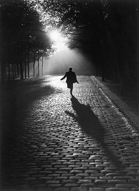 L'homme qui court, Paris, 1953