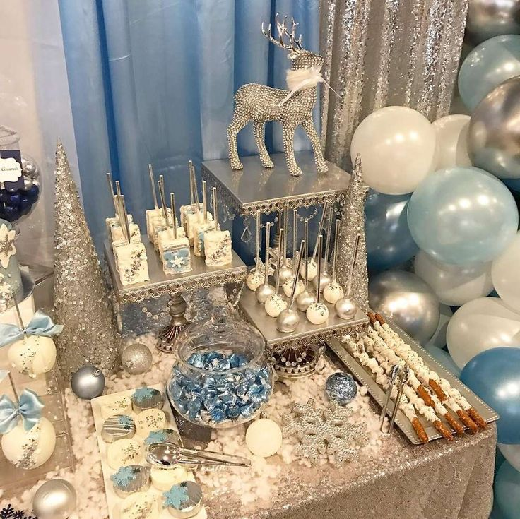 Winter Wonderland Baby Shower Party Ideas | Photo 1 of 22 | Catch My Party