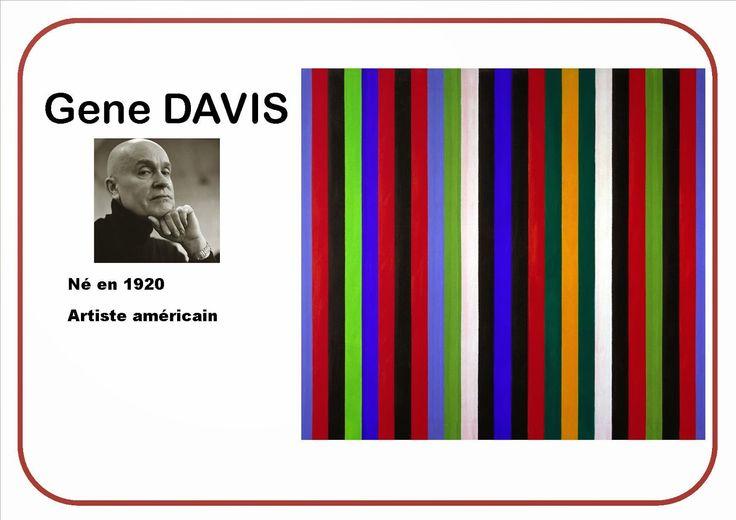 Traits verticaux selon Gene Davis