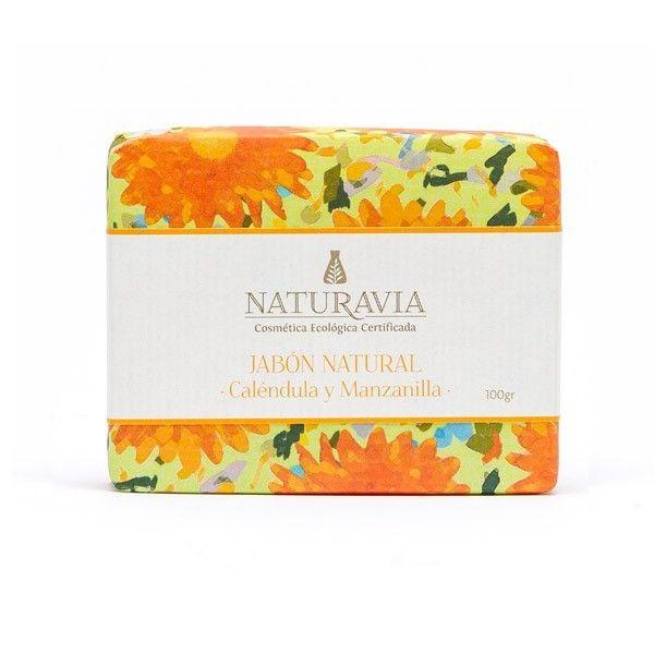 Jabón de Caléndula con Manzanilla e Incienso - Naturavia