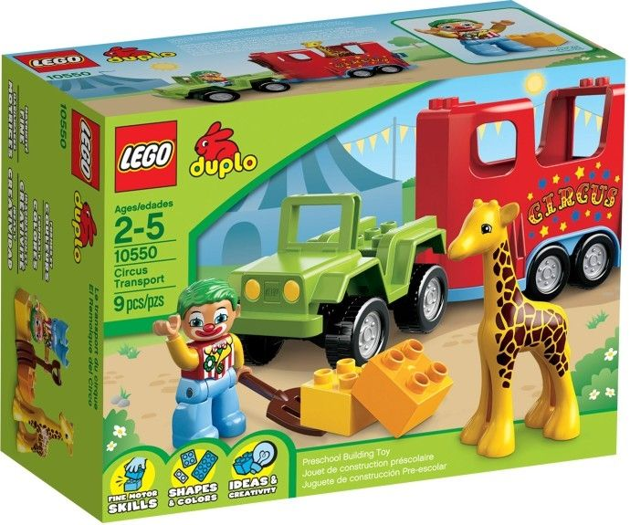 LEGO Duplo 10550 Circustransport - j-toys.nl
