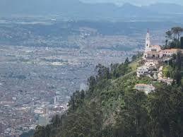 Resultado de imagen para monserrate.  Visite la montaña de Monserrate que esta ubicada a 3,000 pies de altura sobre el nivel del mar.