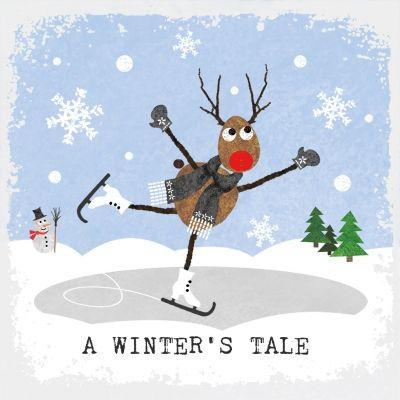 A winter's tale, kerstservet