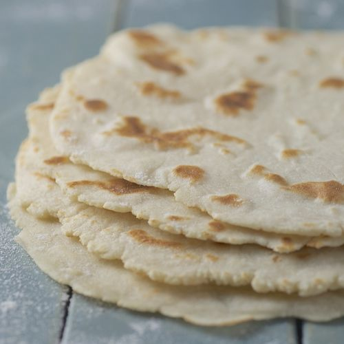 """Tortillas are so simple, yet so perfect. I really wanted an easy, fat-free,  gluten-free tortilla recipe without an array of ingredients like tapioca  starch or guar gum or xanthan gum. After a bit of experimentation, I've  come up with one that I love. These tortillas use brown rice flour instead  of wheat flour, and potato starch as the """"glue"""". Since there is no gluten,  something has to hold it all together.  Potato flour, not potato starch: There is a difference. Potato flour is  made…"""