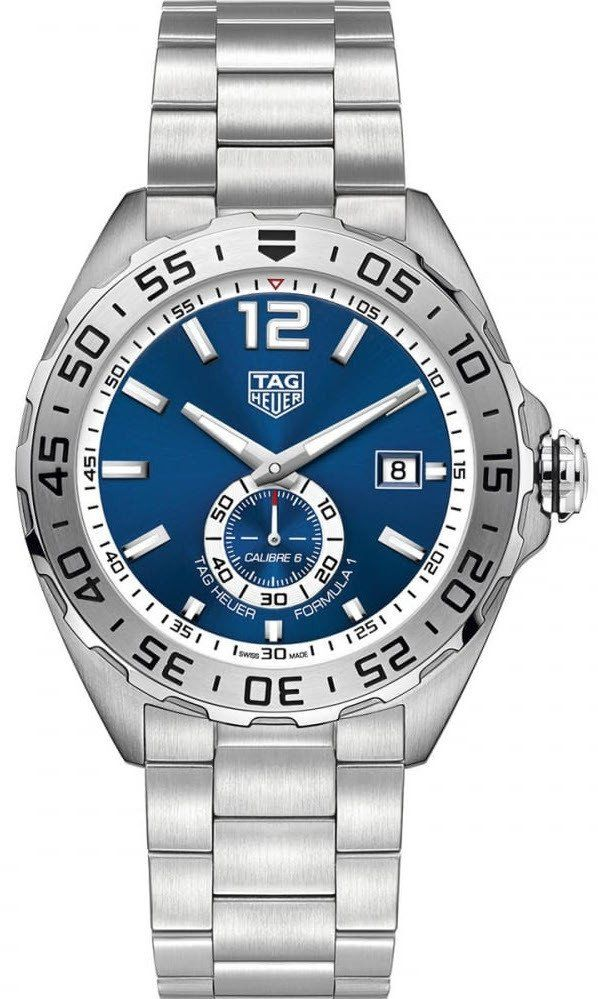 @tagheuer  Watch Formula 1 Automatic #add-content #basel-17 #bezel-unidirectional #bracelet-strap-steel #brand-tag-heuer #case-material-steel #case-width-43mm #date-yes #delivery-timescale-call-us #dial-colour-blue #gender-mens #luxury #movement-automatic #new-product-yes #official-stockist-for-tag-heuer-watches #packaging-tag-heuer-watch-packaging #style-dress #subcat-formula-1 #supplier-model-no-waz2014-ba0842 #warranty-tag-heuer-official-2-year-guarantee #water-resistant-200m