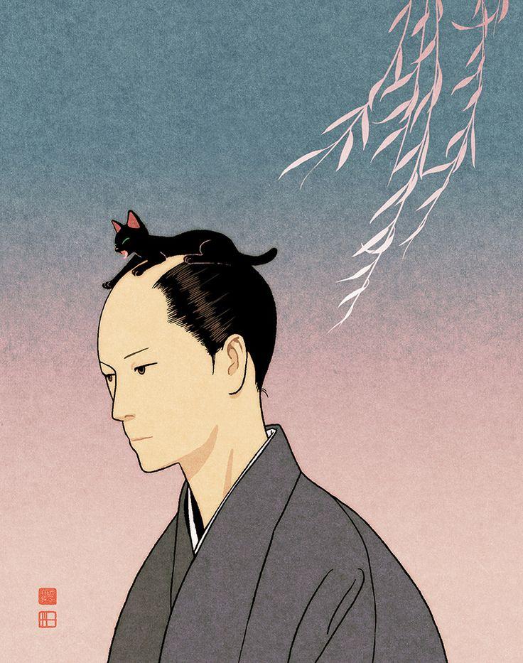 ニャンまげ侍w 可愛すぎるっ♪ – Japaaan 日本の文化と今をつなぐ