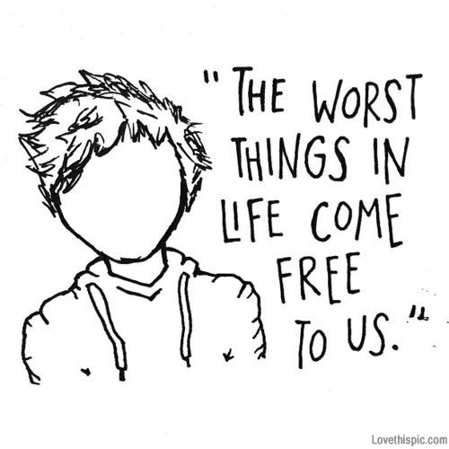 The worst things in life come free to us music song lyrics song lyrics ed sheeran music lyrics