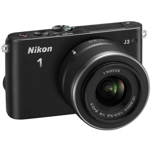 1 J3 Compact Interchangeable Lens Camera with 10-30mm VR Lens