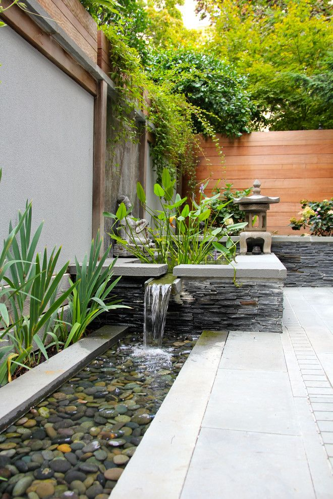 Really nice water feature  Asian Patio by JHLA   Jennifer Horn Landscape  ArchitectureBest 25  Asian indoor fountains ideas on Pinterest   Contemporary  . Indoor Bedroom Water Fountain. Home Design Ideas