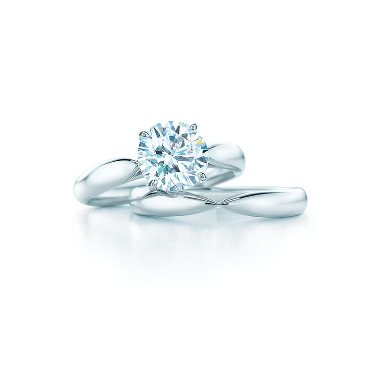Elegant  Carat Engagement Ring On Finger